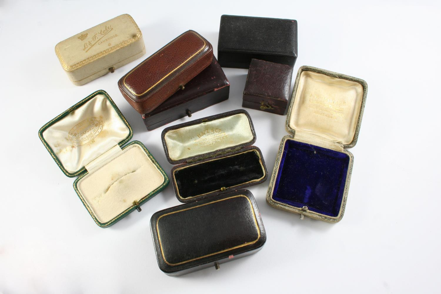 A LARGE QUANTITY OF ASSORTED ANTIQUE JEWELLERY BOXES - Image 8 of 8