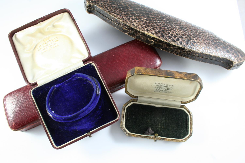 TWENTY ASSORTED ANTIQUE JEWELLERY BOXES - Image 4 of 5