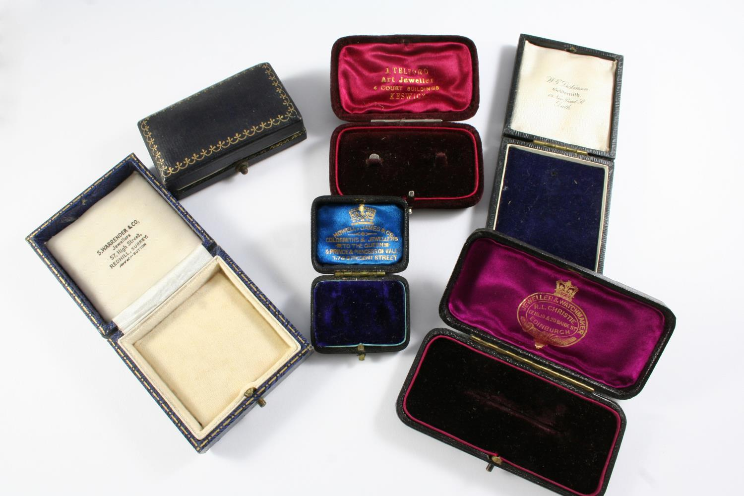 A LARGE QUANTITY OF ASSORTED ANTIQUE JEWELLERY BOXES - Image 2 of 8