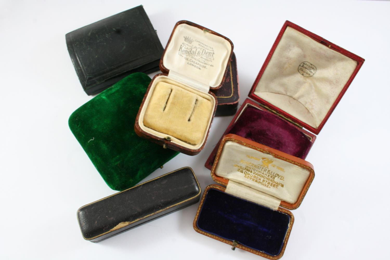 A LARGE QUANTITY OF ASSORTED ANTIQUE JEWELLERY BOXES - Image 3 of 8