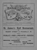 The Bath Road News A very rare periodical dating May 1896 to December 1914. 110 loose monthly
