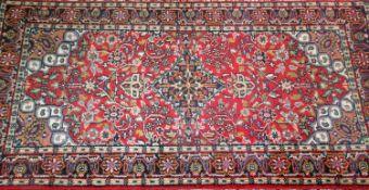 kleiner Läufer Persien, guter Zustand. Maße: Länge ca. 1,40 m, Breite ca. 0,70 msmall runner Per