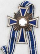 Mutterkreuz am Band. Bronze.Mother's cross on the ribbon. Bronze.