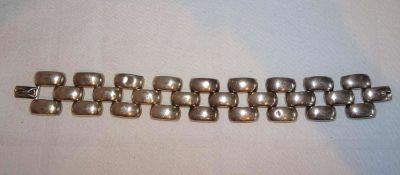 Armband, 800er Silber, Länge ca. 18 cm, Gewicht ca. 28,6 gr.Bracelet, 800 silver, length approx. 1