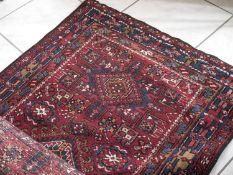 Teppich, Persien, handgeknüpft. Länge: ca. 335 cm, Breite: ca. 97 cm.Carpet, Persia, hand-knotted