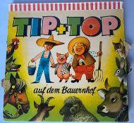 Tip + Top on the farm, pop-up book. Illustration Vojtech Kubasta.