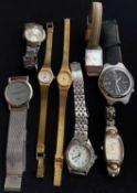 Großes Lot Armbanduhren, Damen & Herren, verschiedene Modelle. Dabei Citizen, Anker, etc.Large lot