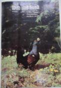 """Paul Parey """"Wild und Hund"""", 72. Jahrgang, 1969/70. Gebunden. Guter Zustand.Paul Parey """"Wild und Hun"""