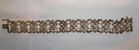 Armband, 835er Silber, Länge ca. 20 cm. Gewicht ca. 21,8 gr.Bracelet, 835 silver, length approx. 2