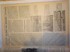 Neue Freiwaldauer Zeitung, 1. Jahrgang 1933, Nr. 1 - 13, gebunden. Seltene Ausgaben.Neue Freiwaldau