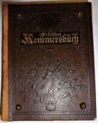Deutsches Kommersbuch Dr. Karl Reifert, Freiburg 1899. 1. Ausgabe. Guter Zustand.German Kommersbuch