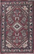 Perser - Teppich, handgeknüpft, Länge: ca. 94 cm, Breite: ca. 57 cm.Persian carpet, hand-knotted,
