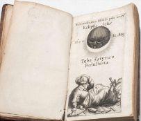 """seltenes Buch """"De Eclipsi Solari Anno M.DC.LIV DIE 12. Augusti in Europa. A pluribus spectata Tvbo"""