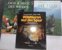 """3 Bücher zum Thema Jagd, dabei """"Die Jagd - Die berühmtesten Jagdgebiete rund um die Welt"""", """"Wildt"""