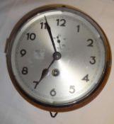 1 Original U-Boot Uhr, 3. Reich, entnazifiziert, recht guter Zustand. Durchmesser ca. 18 cm gesamt