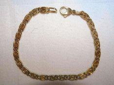 Armband, 925er Silber vergoldet. Länge ca. 19 cmBracelet, 925 silver gilt. Length approx. 19 cm