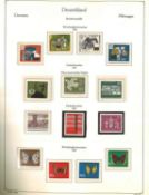 BRD, komplett Bund 1959-1980, postfrisch, mit Block-Einzelmarken, Dauerserien, Zusammendrucke, Kehr