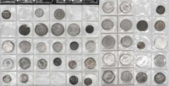 Lot Münzen aus Europa, dabei Italien, Spanien, Portugal, Griechenland, Ungarn etc.Lot of coins fro