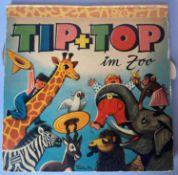 Tip + Top im Zoo, Pop-up-Buch, Illustration Vojtech Kubasta. Verlag: Prag: Artia für Carlsen Verla