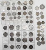 Frankreich 1854 / 1983, Lot Münzen von der Kaiserzeit bis 5. Republik. Insgesamt 62 Münzen.France