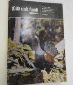 """Paul Parey """"Wild und Hund"""", 69. Jahrgang, 1966/67. Gebunden. Guter Zustand.Paul Parey """"Wild and Dog"""