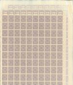 23 Bogen der Inflationszeit des Deutschen Reichs in Bogenblättern, fast ausschließlich 30 Million