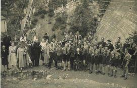 Sonderkarte Hitlerjugend AusflugSpecial ticket for the Hitler Youth excursion
