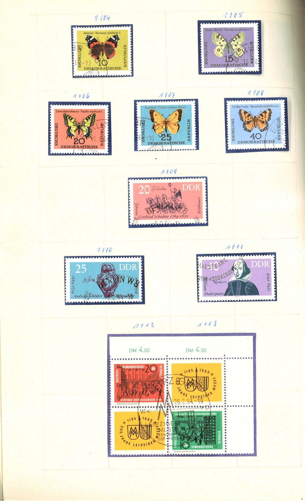 DDR Teilsammlung, gestempelt ab Anfänge bis 1969. - Image 8 of 8