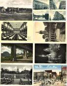 Lot Postkarten, Motiv Breslau, Vorkrieg, gelaufen und ungelaufen. Insgesamt 12 Stück