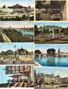 Lot Postkarten, Motiv Frankfurt am Main, meist Vorkrieg, gelaufen und ungelaufen. Insgesamt 18