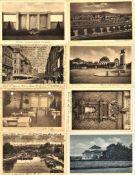 Lot Postkarten, Motiv Saarbrücken, Vorkrieg, gelaufen und ungelaufen. Insgesamt 16 Stück