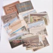 über 40, meist kleinformatige Postkarten Europa, meist Vorkrieg. Dabei auch noch 3