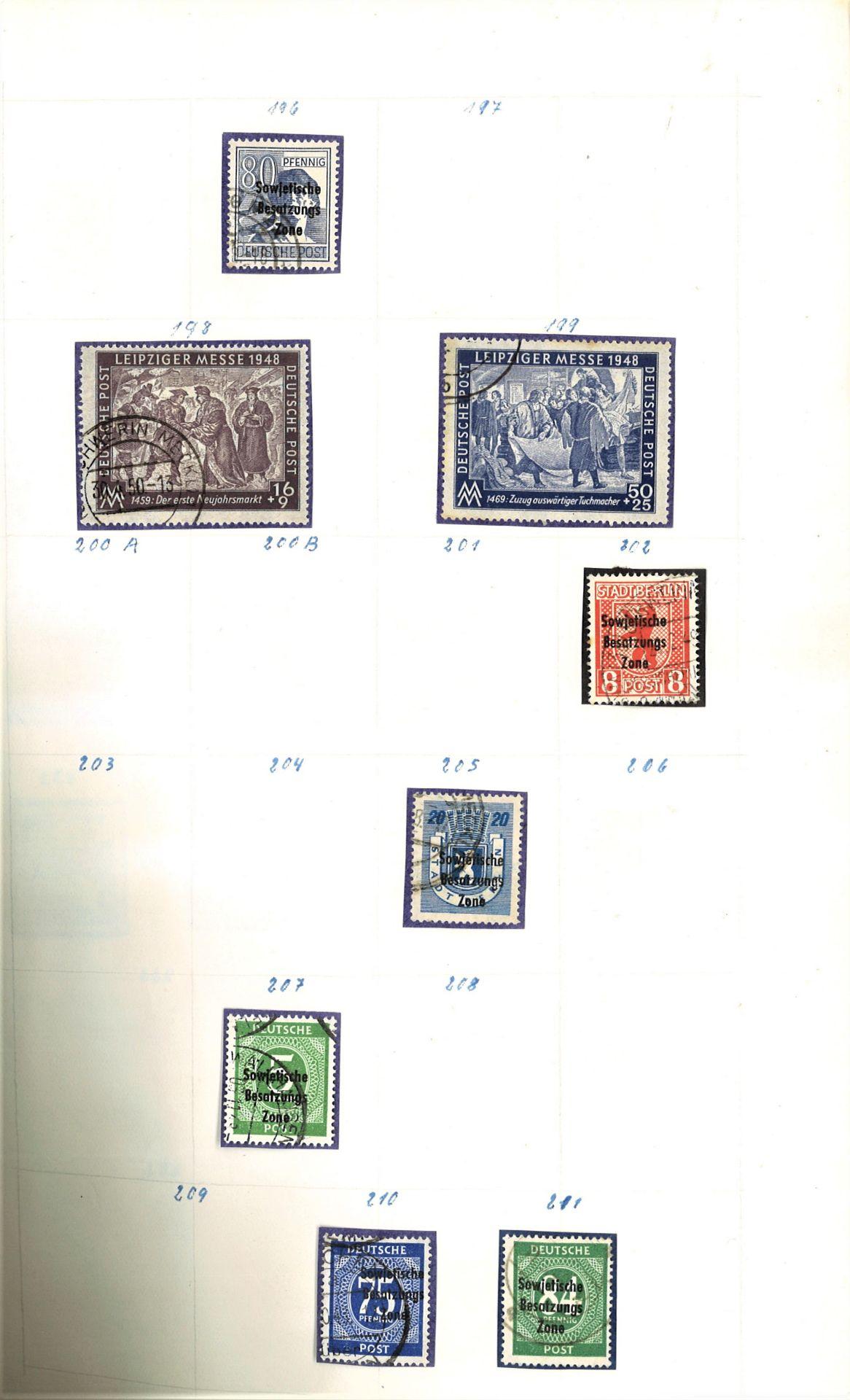DDR Teilsammlung, gestempelt ab Anfänge bis 1969. - Image 4 of 8