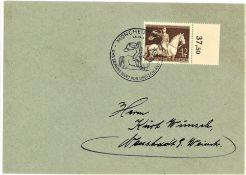 Deutsches Reich, Mi. - Nr. 854 mit OR als EF auf Brief mit Sonderstempel.