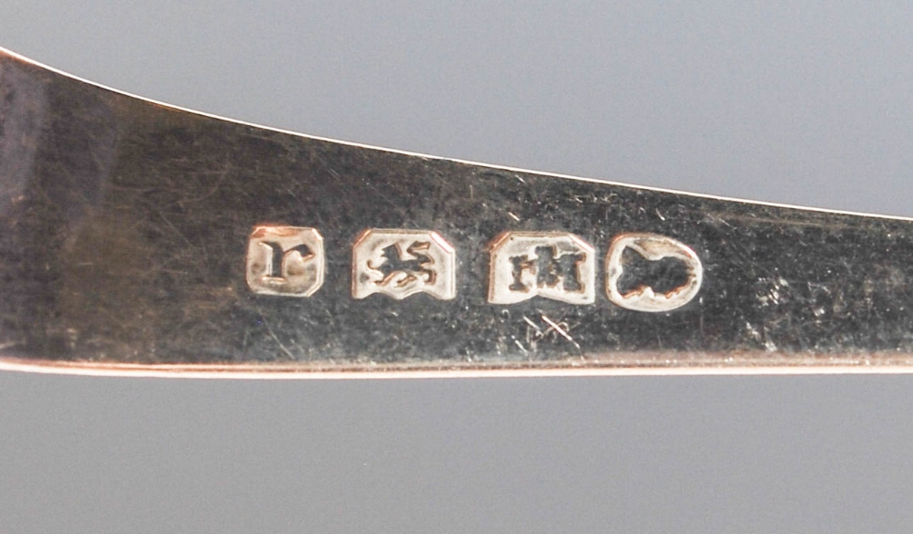 A collection of four pairs of 19th century silver sugar tongs, comprising; A pair of early 19th - Image 10 of 10