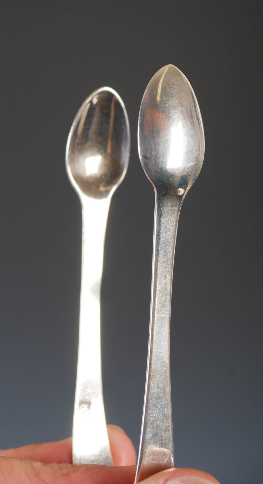 A collection of four pairs of 19th century silver sugar tongs, comprising; A pair of early 19th - Image 9 of 10