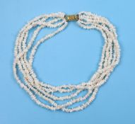 Seedpearl necklace