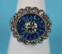 Art Deco style costume ring