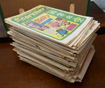 Mixed Scorcher & Tiger comics etc mostly 1970's