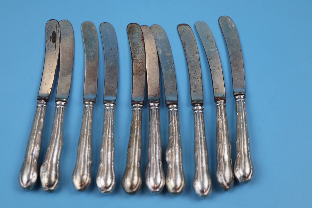 17 silver handled knives - Image 3 of 4