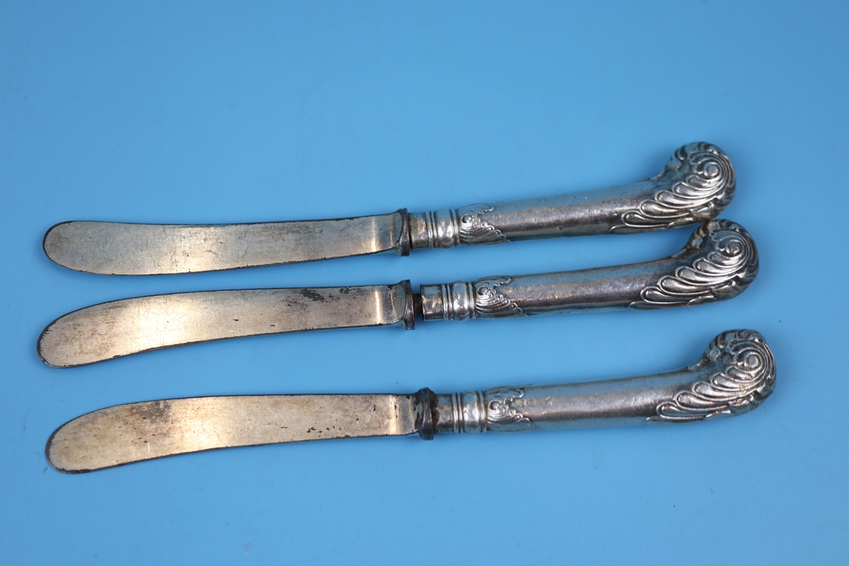 17 silver handled knives - Image 4 of 4
