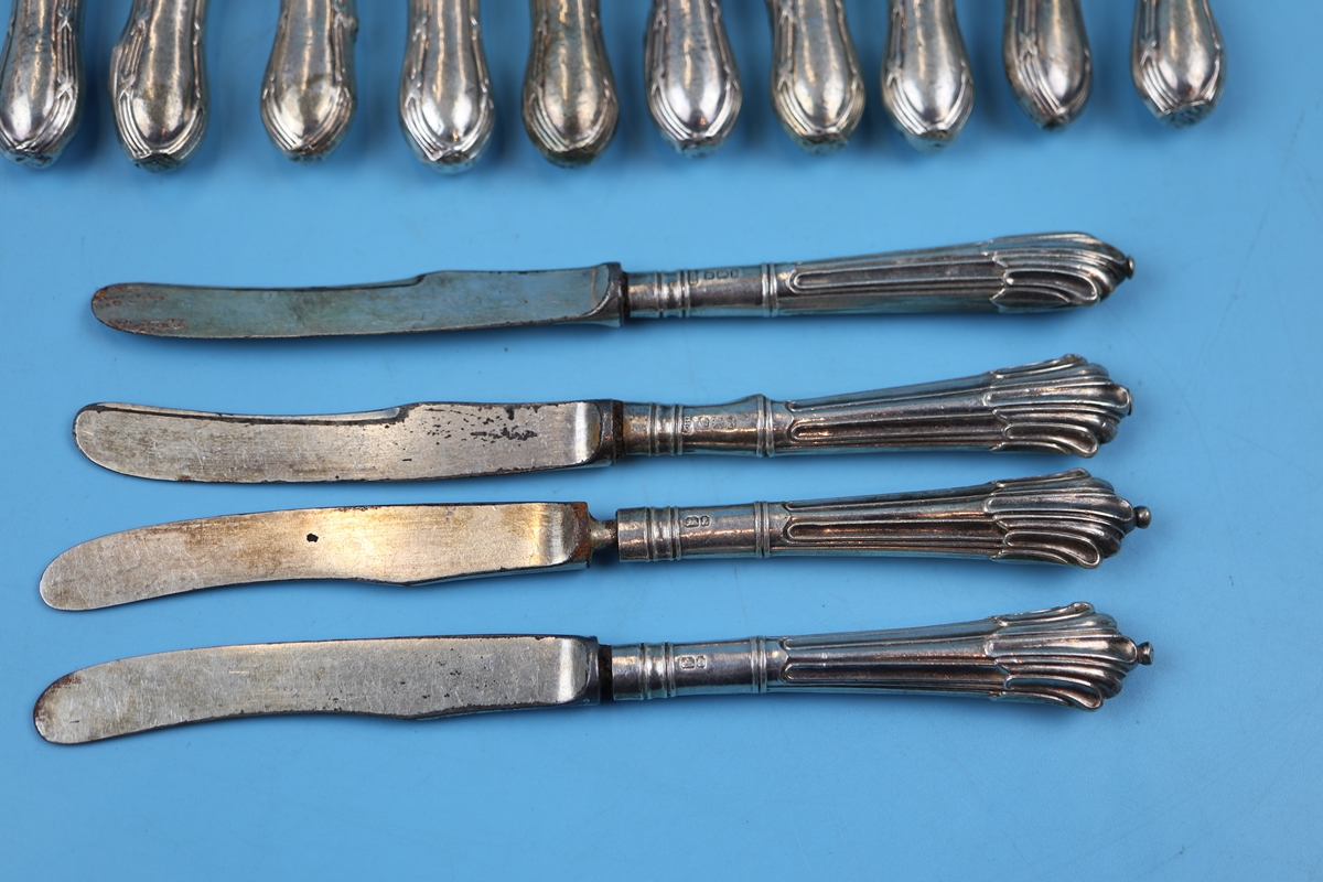 17 silver handled knives - Image 2 of 4