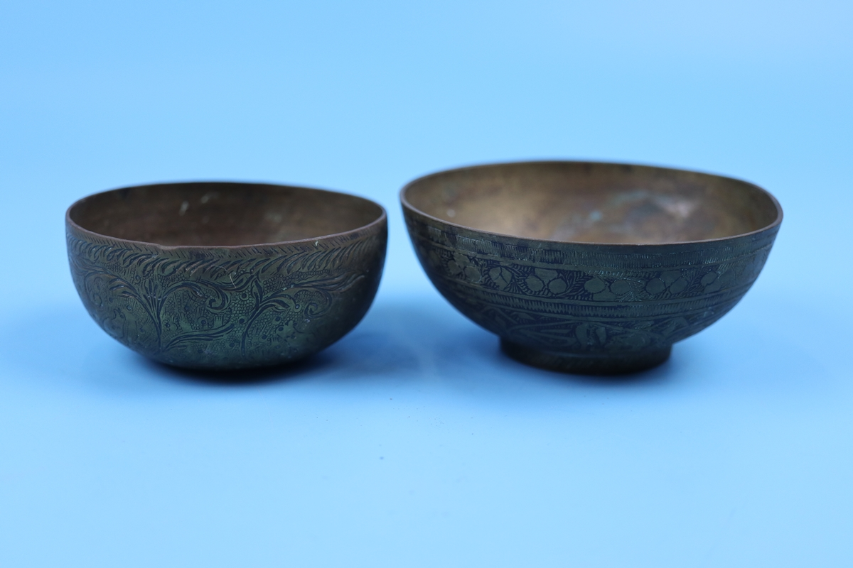 Collection of bowls to include Eastern silver - Image 10 of 13