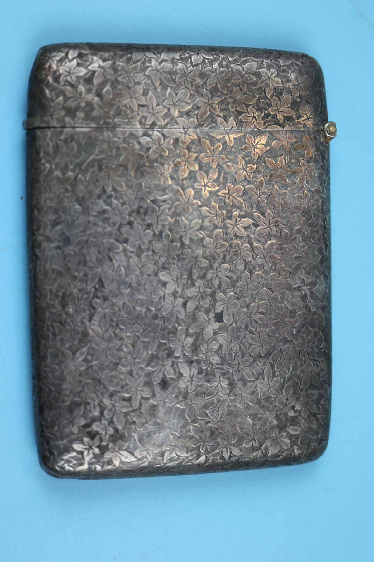 Hallmarked silver cigarette case - Approx weight: 80g - Image 3 of 4