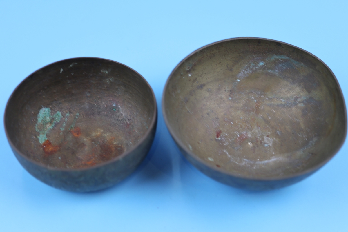 Collection of bowls to include Eastern silver - Image 11 of 13