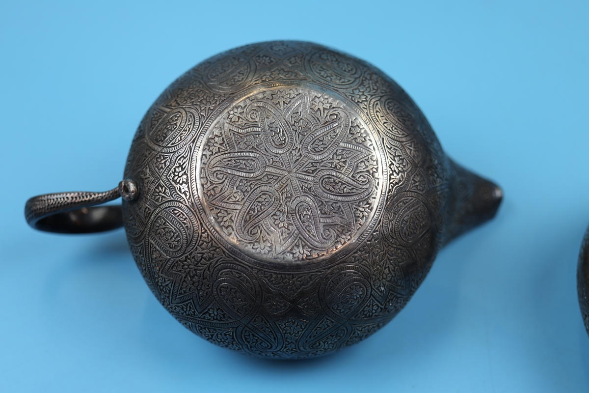 Collection of bowls to include Eastern silver - Image 5 of 13