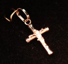 Small gold crucifix