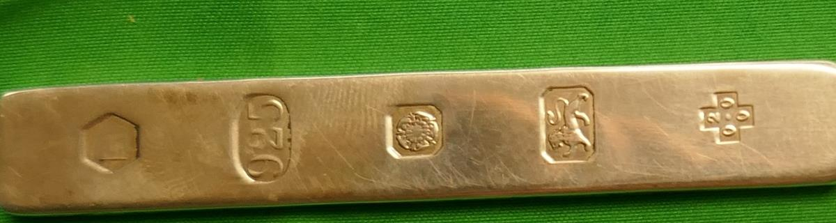 Hallmarked silver letter opener - Image 4 of 4