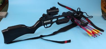Boxed Jaguar crossbow with accessories
