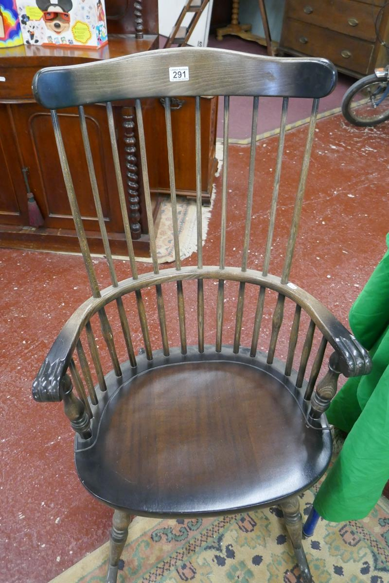 Stick-back rocking chair - Image 2 of 4